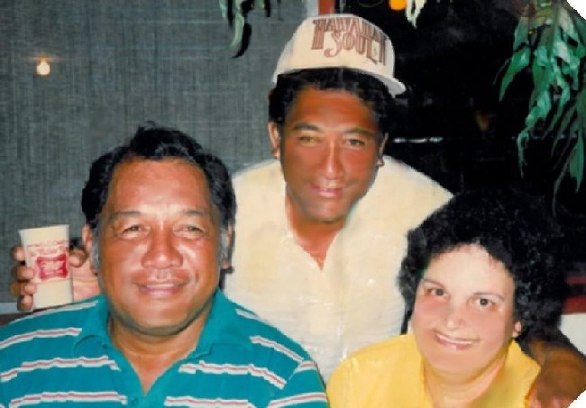 Uncle Buddy, Uncle Donald and Aunty Loraine